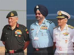 Joint operational doctrine for army, navy, air force unveiled