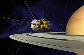 NASA's Cassini spacecraft successfully travels between Saturn and its rings