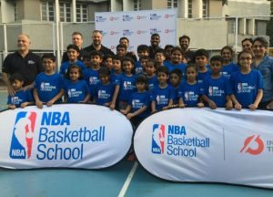 NBA Launches India's first Basketball School In Mumbai