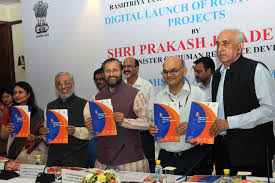 Prakash Javadekar launches the Fund and Reform Tracker of RUSA
