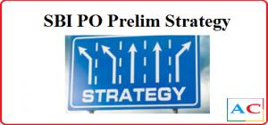SBI PO Prelim Strategy