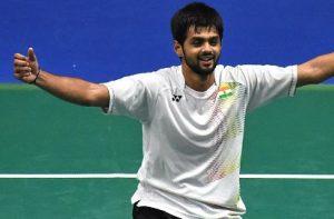 Sai Praneeth Wins Singapore Open badminton