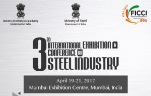 Steel Minister Chaudhary Birender Singh inaugurates India Steel 2017 in Mumbai
