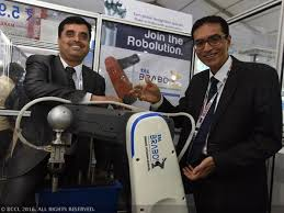 Tata Motors arm launches made in India robot TAL Brabo