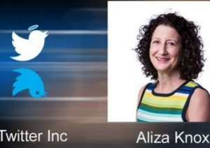 Twitter's VP of Asia Pacific, Aliza Knox quits