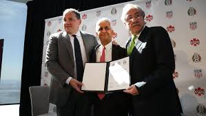 US,Canada and Mexico to launch joint World Cup 2026 bid