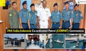 29th India- Indonesia Co-Ordinated Patrol (Corpat) Commences