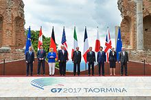 43rd G7 Summit held in Sicily , Italy