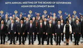 50th annual meeting of the Asian Development Bank (ADB) Board of Governors