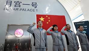 China tests 'Lunar Palace' as it eyes moon mission