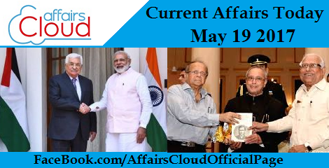 Current Affairs May 19 2017