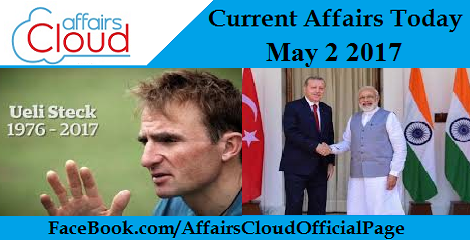 Current Affairs May 2 2017