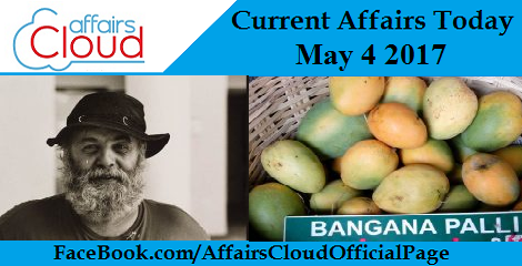 Current Affairs May 4 2017