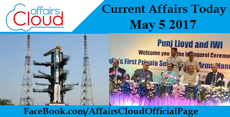 Current Affairs May 5 2017