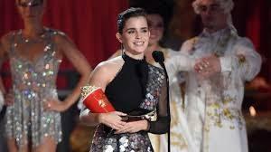 Emma Watson takes first major gender-neutral movie award