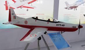 First flight of HTT-40 prototype-2 successful