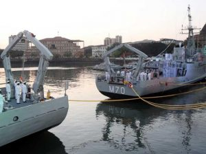 Indian Navy Decommissions Minesweepers - INS Karwar and INS Kakinada