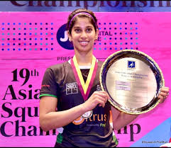 Joshna Chinappa becomes first Indian to win Asian Squash title