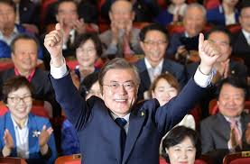 Moon Jae-in elected South Korea President