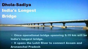 PM Modi inaugurates India's longest bridge Dhola-Sadiya Bridge in Assam