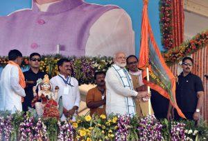 PM Modi launches Narmada Seva Mission in Madhya Pradesh