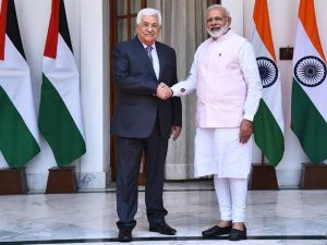 Palestine President Abbas four day visit of India