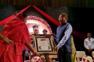 Pawan Kumar Chamling conferred with first BS Shekhawat award by President