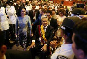 Socialist Lenin Moreno sworn in as President of Ecuador