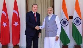 Turkish President Erdogan to arrive New Delhi on Sunday on 2-day India visit