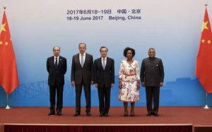 BRICS Foreign Ministers Meeting held in Beijing, China