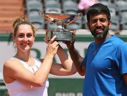 Bopanna-Dabrowski clinch French Open mixed-doubles title
