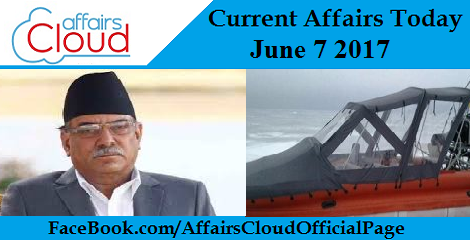 Current Affairs June 7 2017