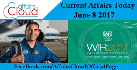 Current Affairs June 8 2017