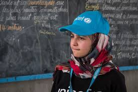 In historic first, UNICEF appoints Syrian refugee MuzoonAlmellehan as Goodwill Ambassador
