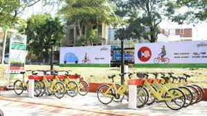 India's first public bicycle sharing project launched in Mysuru