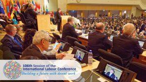 International Labour Conference in Geneva, Switzerland
