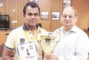 Kutwal wins gold at world chess championship for differently-abled