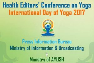Ministry of AYUSH inaugurates 2nd National Health Editors' Conference on Yoga in New Delhi