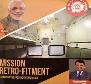 Ministry of Railways launches Mission Retro-Fitment