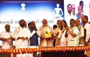 PM attends centenary celebrations of Sabarmati Ashram and launches several projects