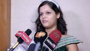 Indian girl Padmalaya Nanda bags Little Miss Universe Internet 2017 crown at Little Miss Universe in Georgia
