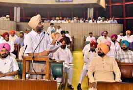 Punjab Finance minister Manpreet Badal presented State budget for the year 2017-18