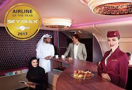 Qatar Airways is voted the World's Best Airline in 2017