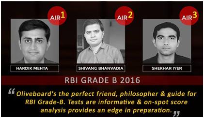 RBI Grade B OB