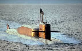 Russian Navy test-fires submarine-launched missile