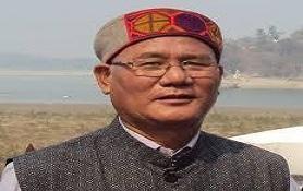 Yeshe Dorjee Thongshi conferred with Bhupen Hazarika Award