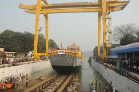 GRSE hands over 2nd LCU Mark IV vessel to Indian Navy