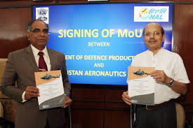 HAL signs MoU with Defence Ministry
