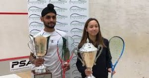 Harinder Pal Sandhu wins Victorian Open squash title