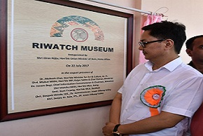 Kiren Rijiju inaugurates RIWATCH Museum and Chimari Bridge in Arunachal Pradesh